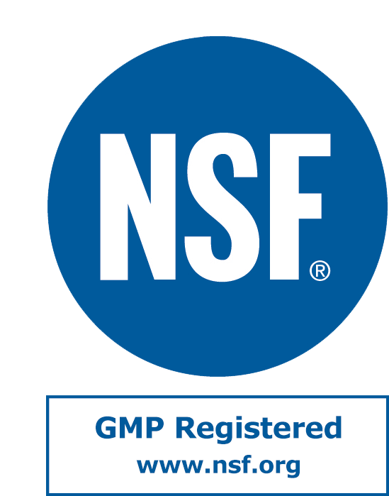 View Our NSF- GMP Certificate