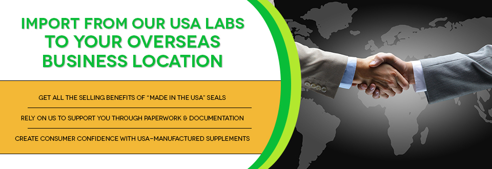 Overseas Product Registration