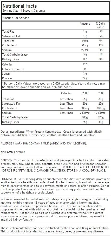Whey Pro Protein-Vanilla