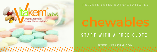 chewable supplements manufacturing