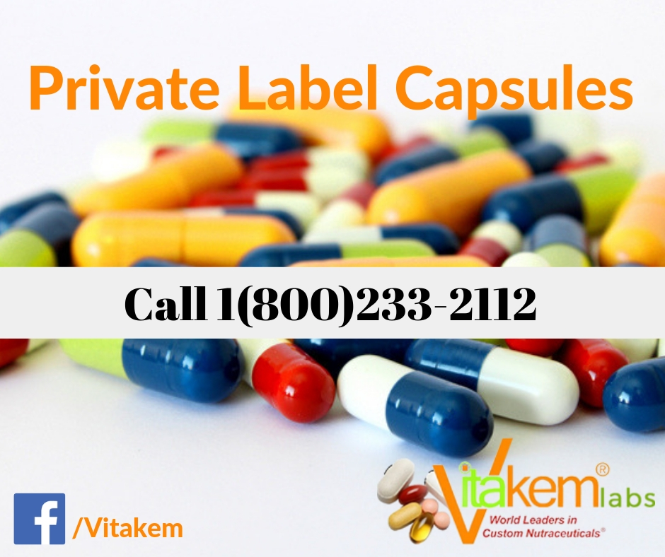 Vitamins And Supplements Capsule Manufacturer - Vitakem