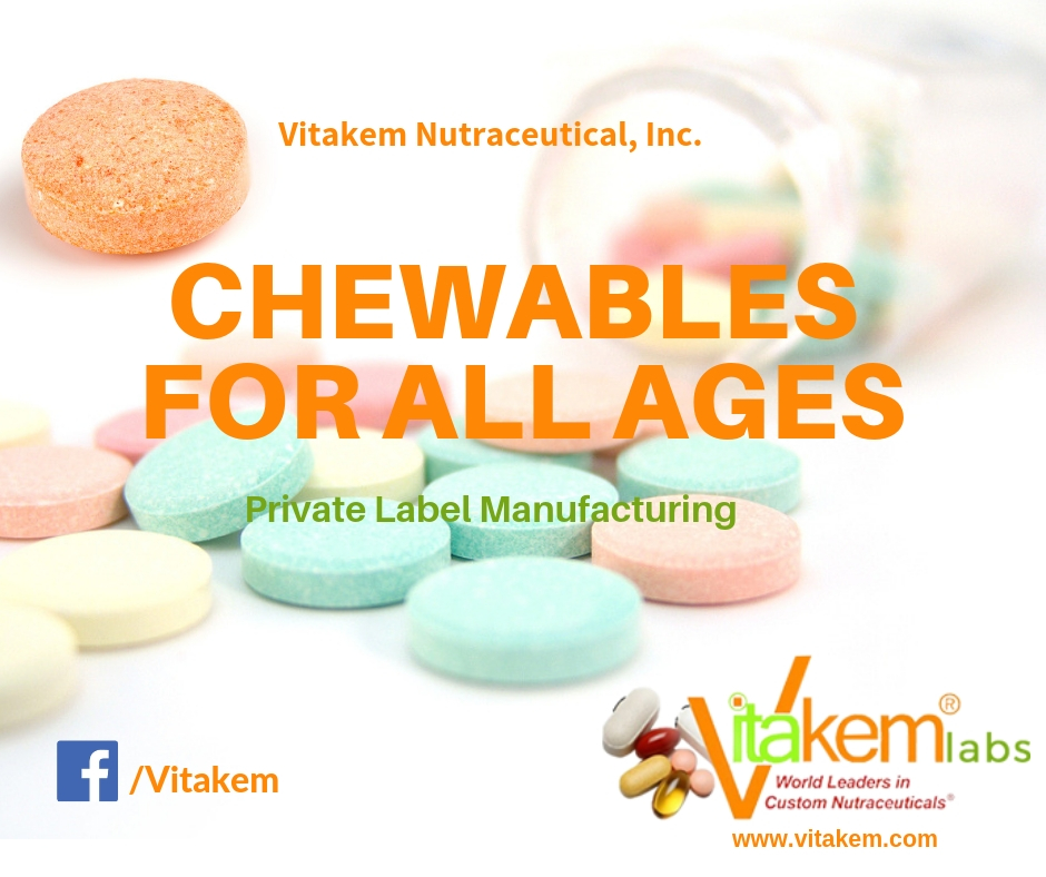 Chewable Supplement Manufacturer - Vitakem Private Label