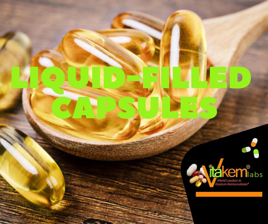 Liquid-filled capsules