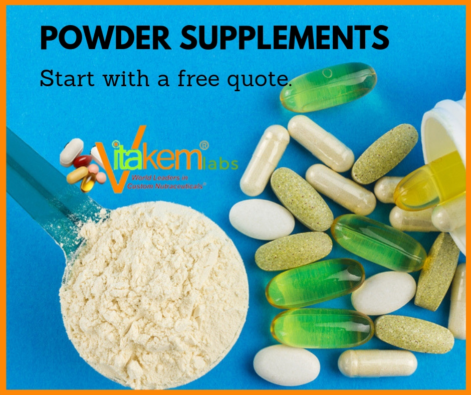 Powder Nutraceuticals