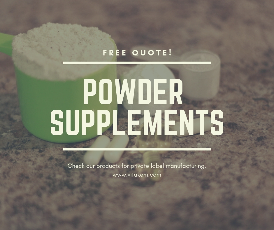 Private Label Powder Supplements