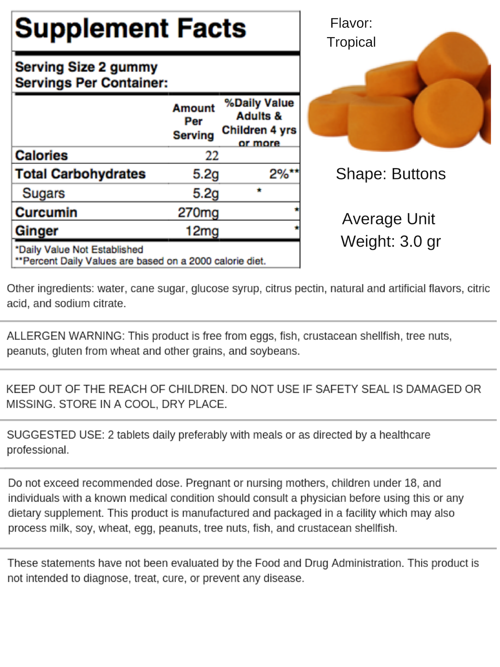 Curcumin and Ginger