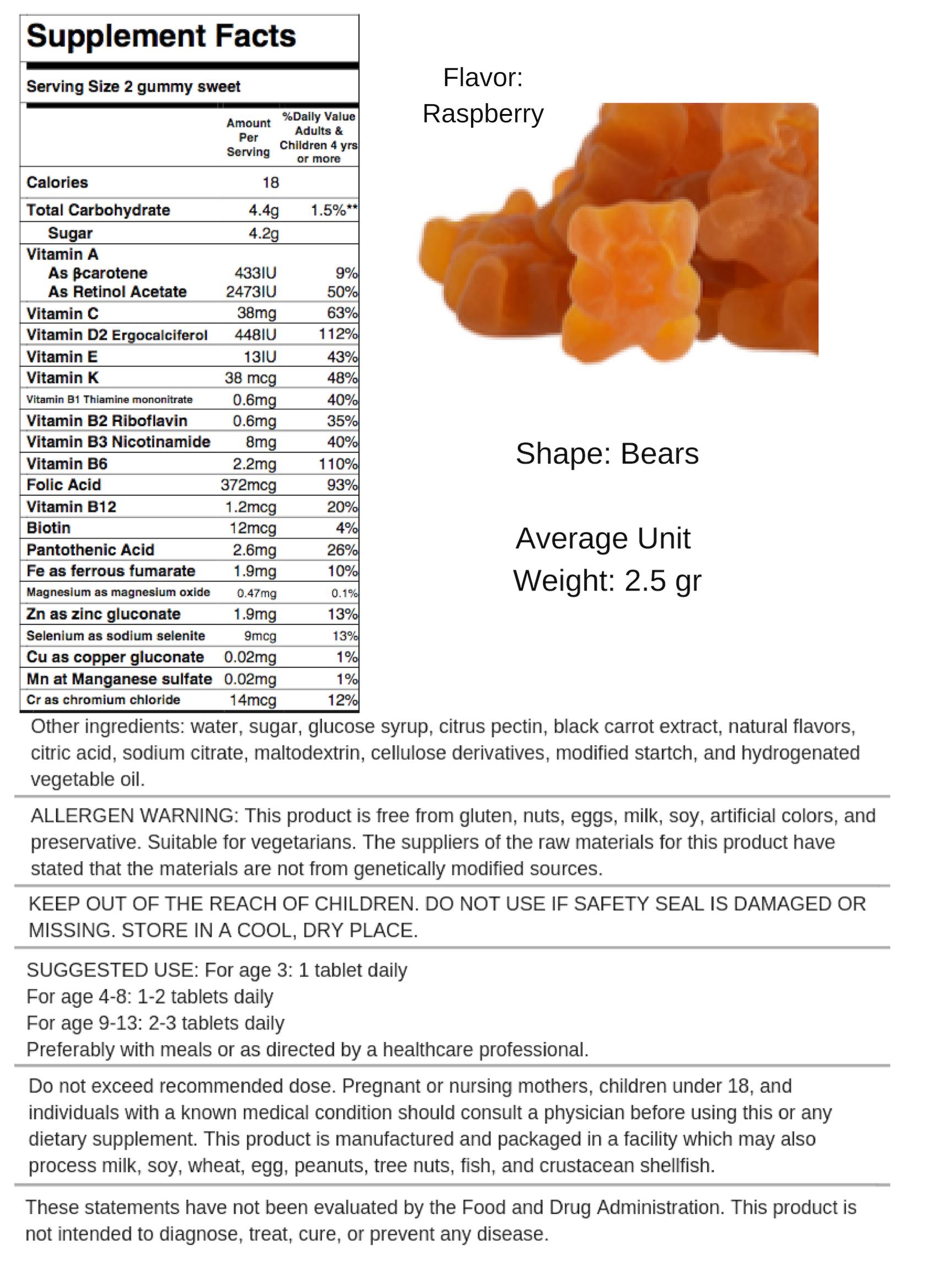Gummy Multivitamins - Flavor Mix