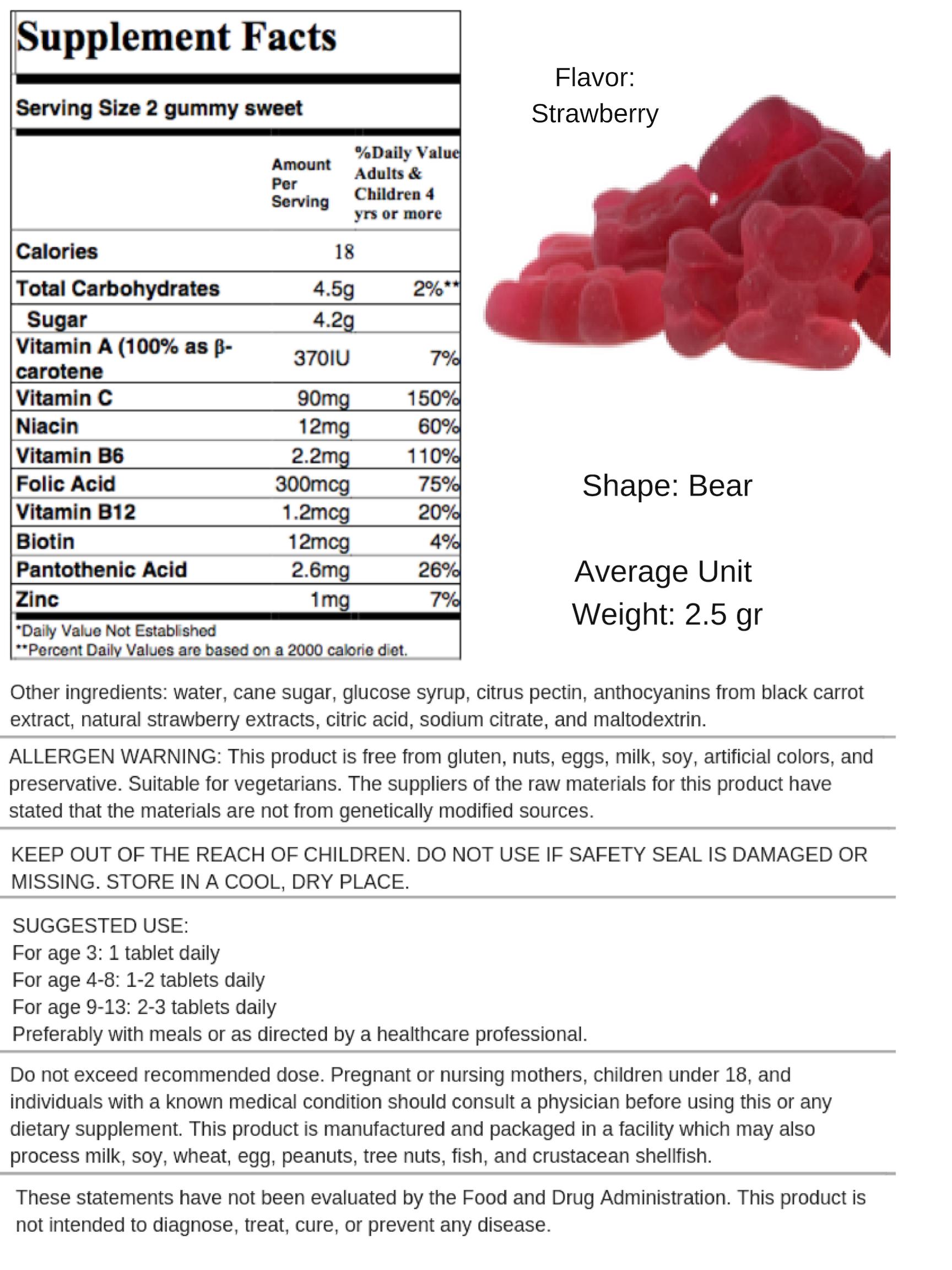 Multivitamin - Strawberry
